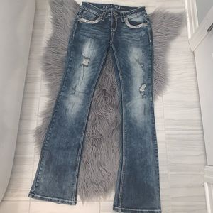 Beautiful distressed jeans